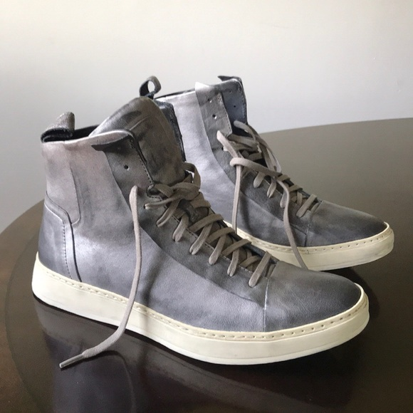e0e48180657 Rustic Leather John Varvatos 315 hi Top Sneakers